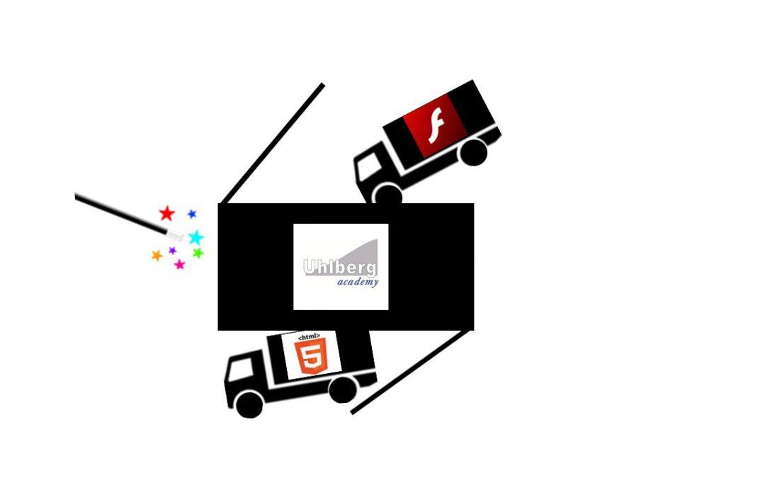 Von FLASH zu HTML5 – Folgen für Ihr e-Learning